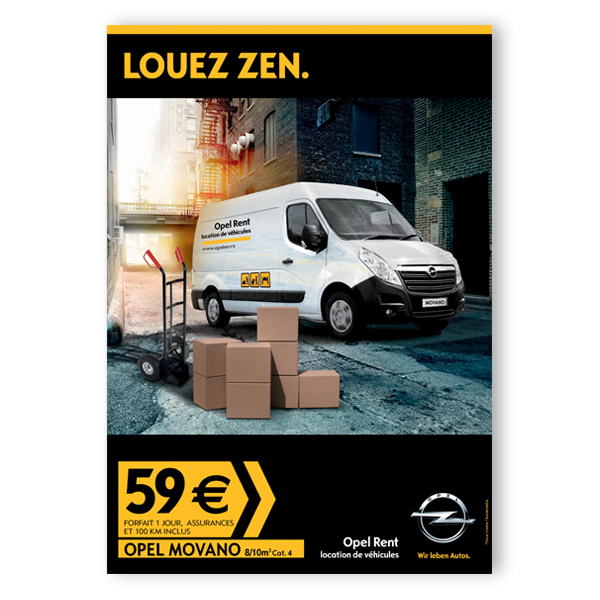 OpelRent_affiche