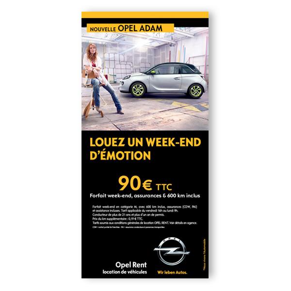 Opel Rent - Leaflet
