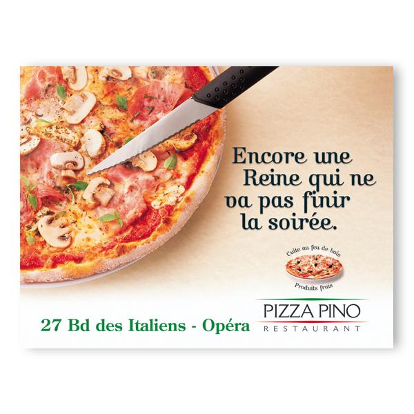 Pizza Pino - Campagne