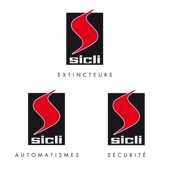 Logos Sicli - Déclinaisons