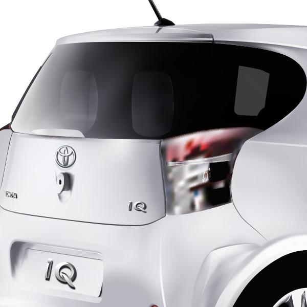 Toyota - Illustration gros plan